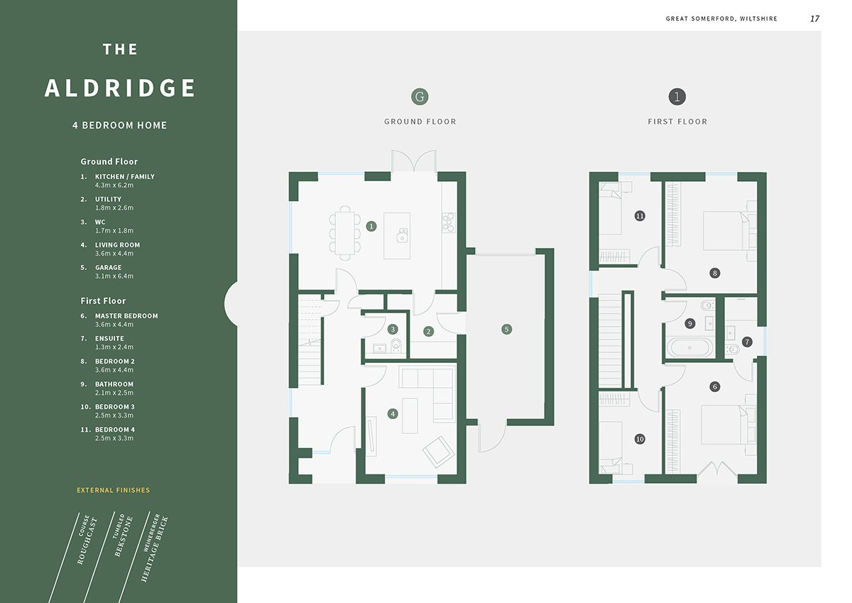 Floor plans design and dimensions